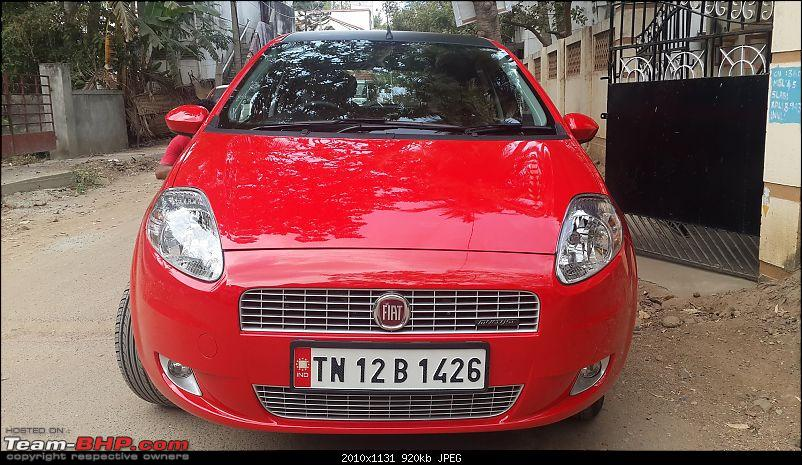 From a chipped Figo to a Punto 90!-20140215_135735.jpg