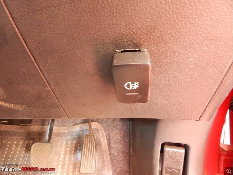 My Rallye Red Go-Kart: The Honda Brio-fog-switch.jpg