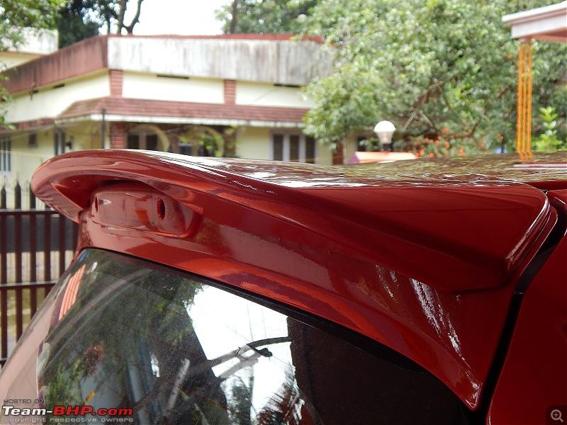 My Rallye Red Go-Kart: The Honda Brio-spoiler.jpg