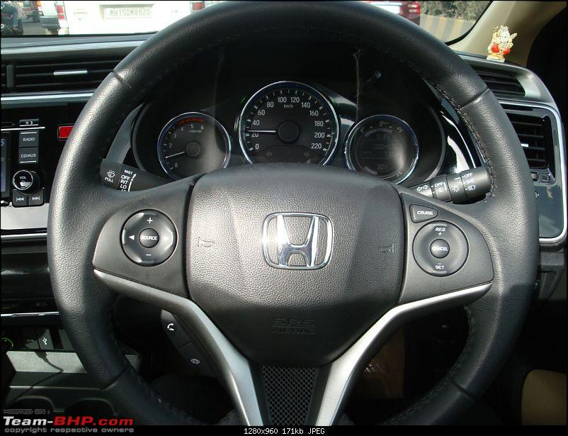 The Perfect Family Sedan - Honda City i-DTEC VX MT-steering.jpg