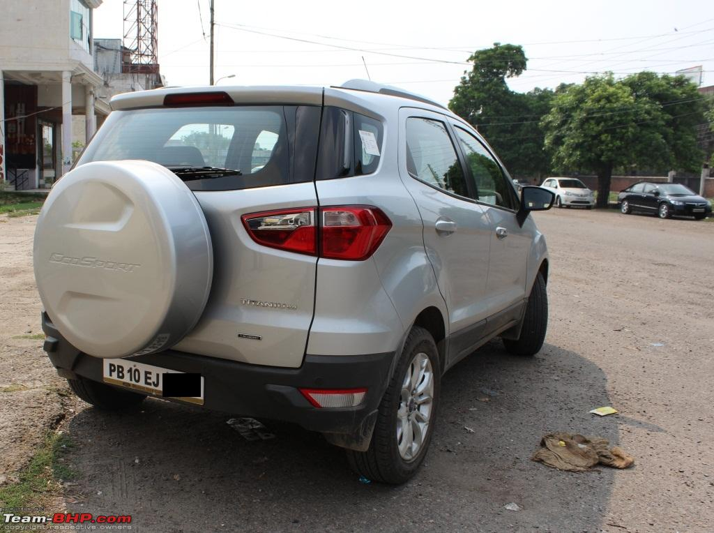 My Perfect Car Ford Ecosport Titanium O Ecoboost Back Quarter