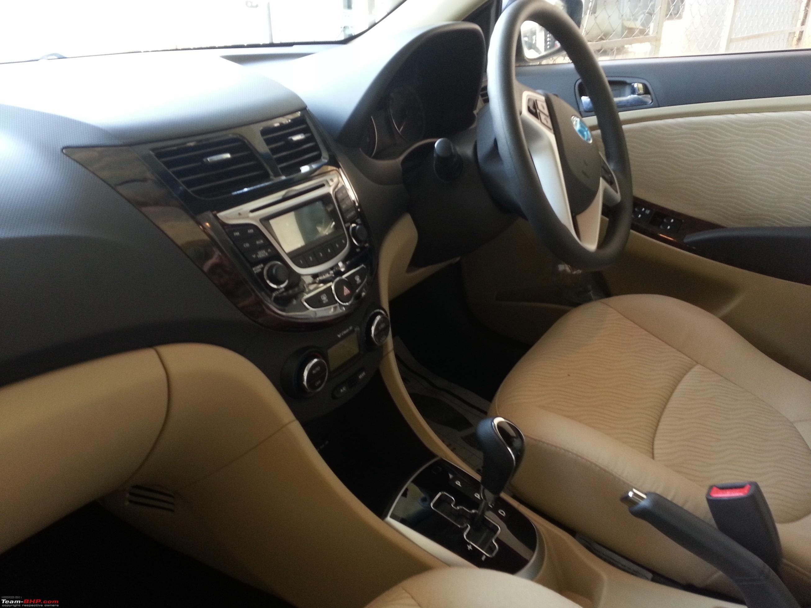 Car Seat Disposal >> My new ride arrives - 2014 Hyundai Verna Fluidic 1.6 CRDi ...