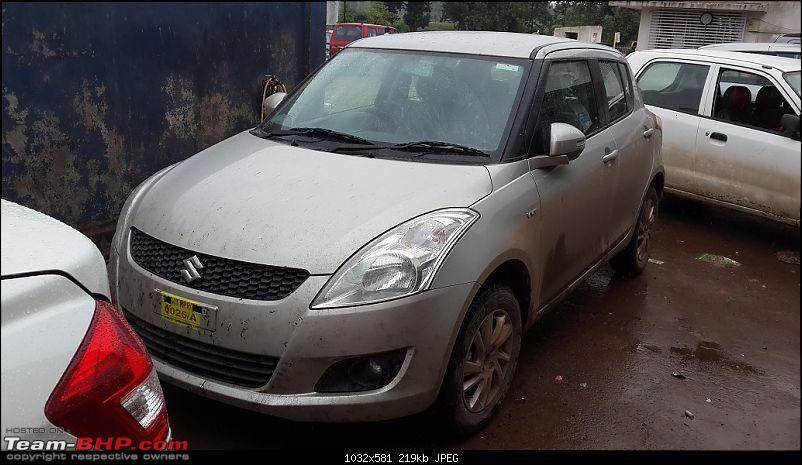 Happy Birthday Dad - From all of us and your Maruti Swift ZXi! EDIT: 10,000 km up!-20140726_134242.jpg