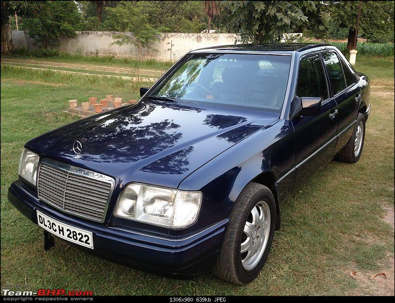 Mercedes W124 E220 - The Deutsch Tank comes home-new6.jpg