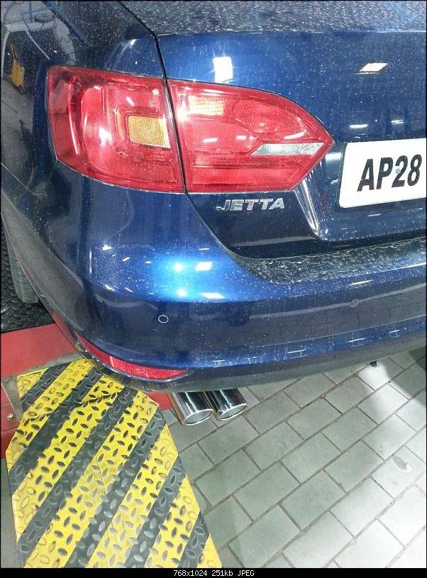 Tempest blue metallic VW Jetta DSG has arrived!-20140904_154417.jpg