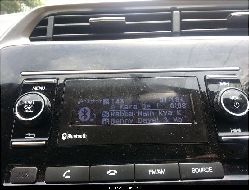 A date with destiny: My Honda City SV CVT (Automatic)-stereo.jpg