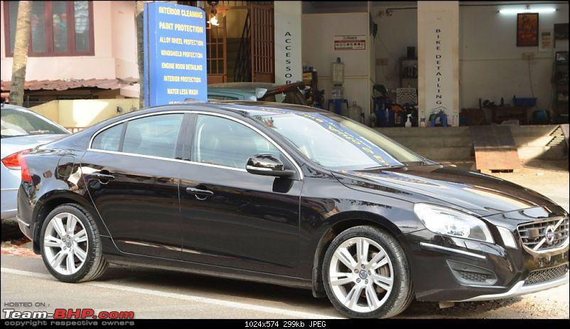 Black Beauty: Pre-owned Volvo S60 T6!-parked.jpg