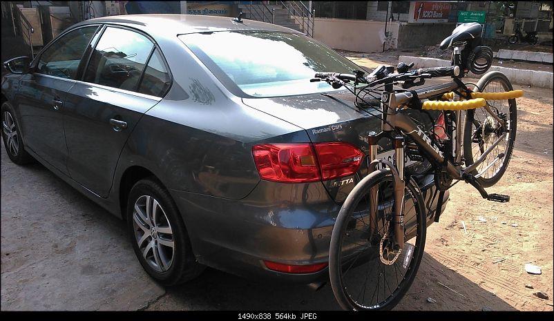 Platinum Grey VW Jetta 2.0 TDI Highline DSG comes home EDIT: Sold!-trunk-rack.jpg