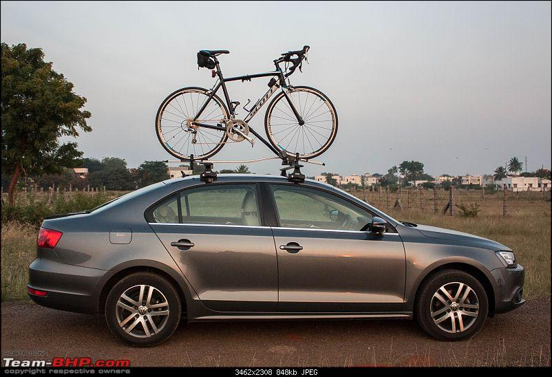 Platinum Grey VW Jetta 2.0 TDI Highline DSG comes home-bike-side-view.jpg