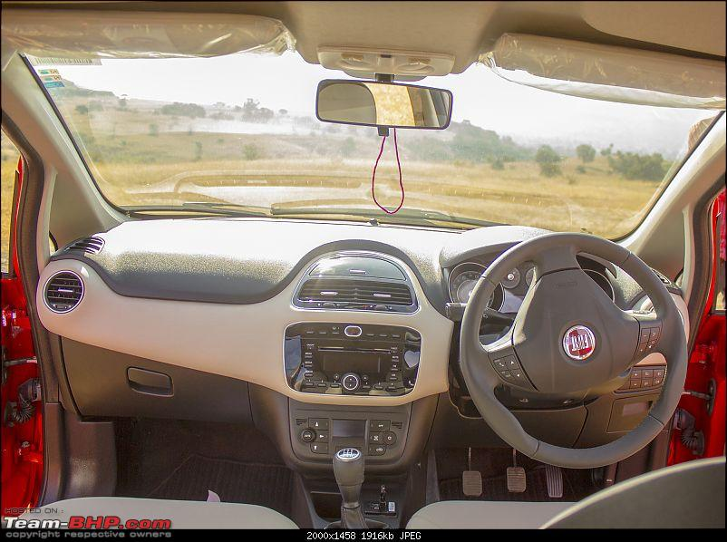 A love affair: Fiat Punto Evo 1.3L MJD. EDIT - sold!-dashbrdbrightlight.jpg