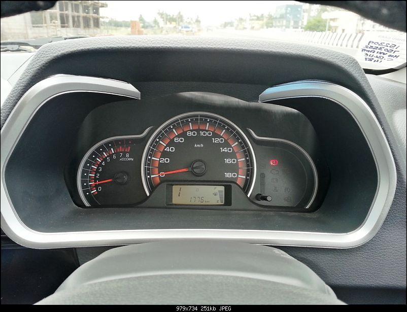 My Go-kart. Maruti Alto K10 VXi AMT, Cerulean Blue - 30,000 km update-11.jpg