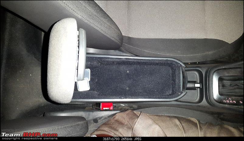 VW Polo GT TSI: Dr. Jekyll and Mr. Hyde - Wife's Car by day, Hot Hatch by night-arm-rest-storage.jpg