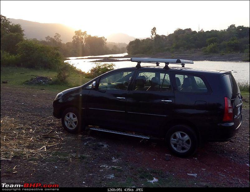 Toyota Innova: My Pre-worshipped Black Workhorse-bw-staring-setting-sun.jpg <br /> Another view - BW staring at the setting sun<br /> <a href=