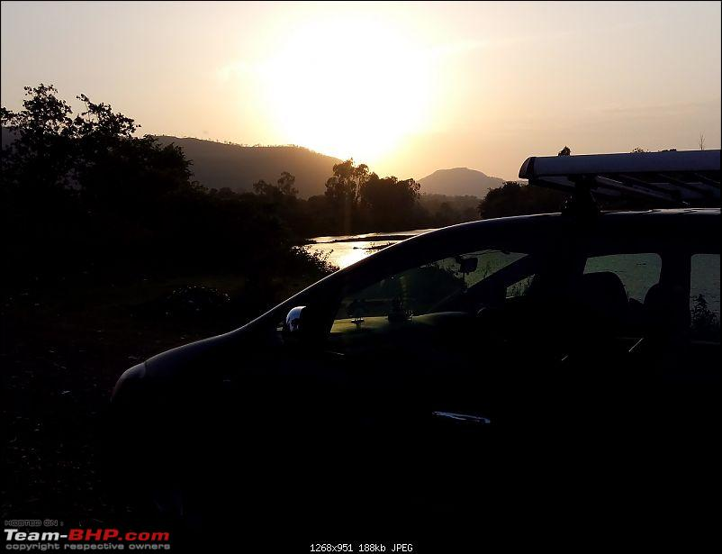 Toyota Innova: My Pre-worshipped Black Workhorse-another-view-bw-staring-setting-sun.jpg <br /> Family enjoying the shallow Bhima waters<br /> <a href=