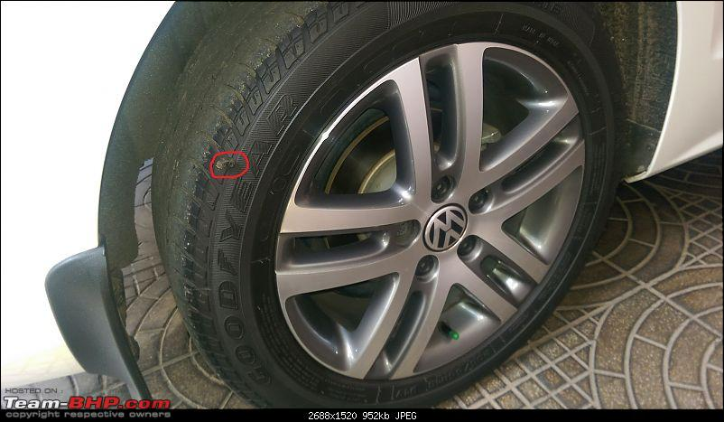 VW Jetta 2.0 TDI HL MT - Now with Bilsteins and Pete's Remap!-puncture.jpg