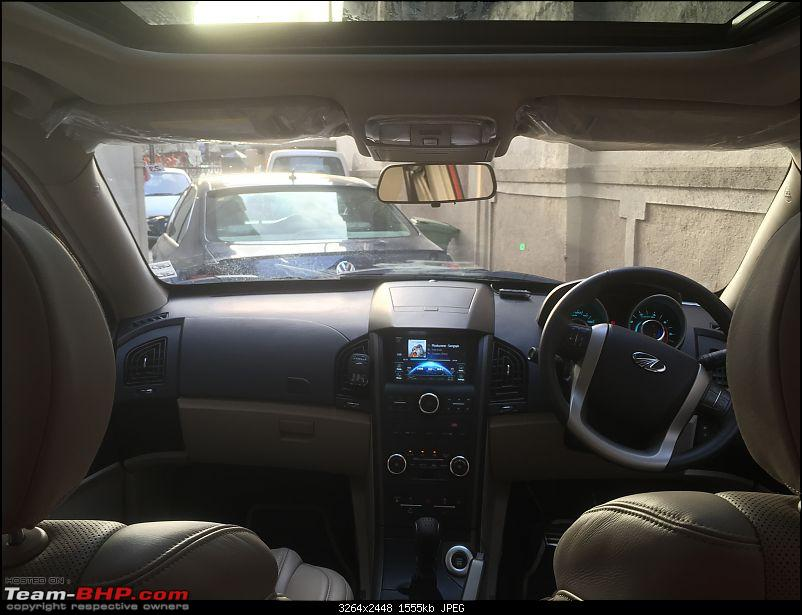 My Sunset Orange Mahindra XUV500 AWD W10. EDIT : 40000 km service update-interior-1.jpg