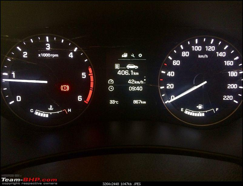 Fooled around & fell in love! Our Polar White Hyundai Elite i20 Asta CRDi-dashboard.jpg