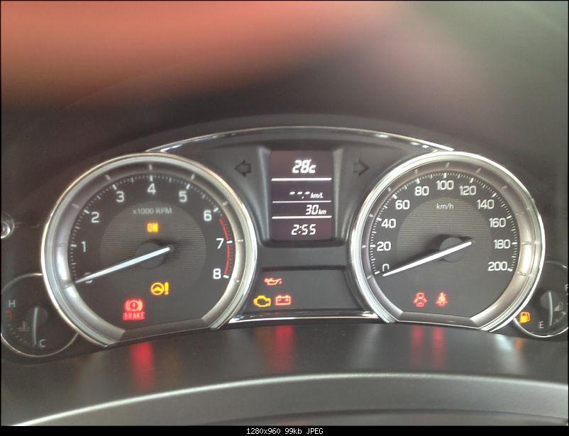 Ownership review of my black Maruti Suzuki Ciaz ZXi-odo.jpg