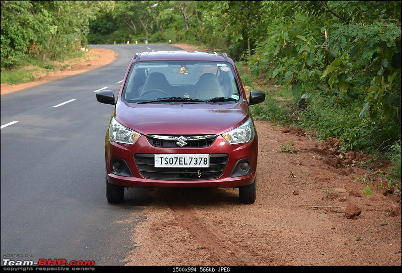 'Chasing Life' with our Maruti Alto K10 VXi AMT (Fire Brick Red). EDIT: 10,000 km up-1.-front.jpg