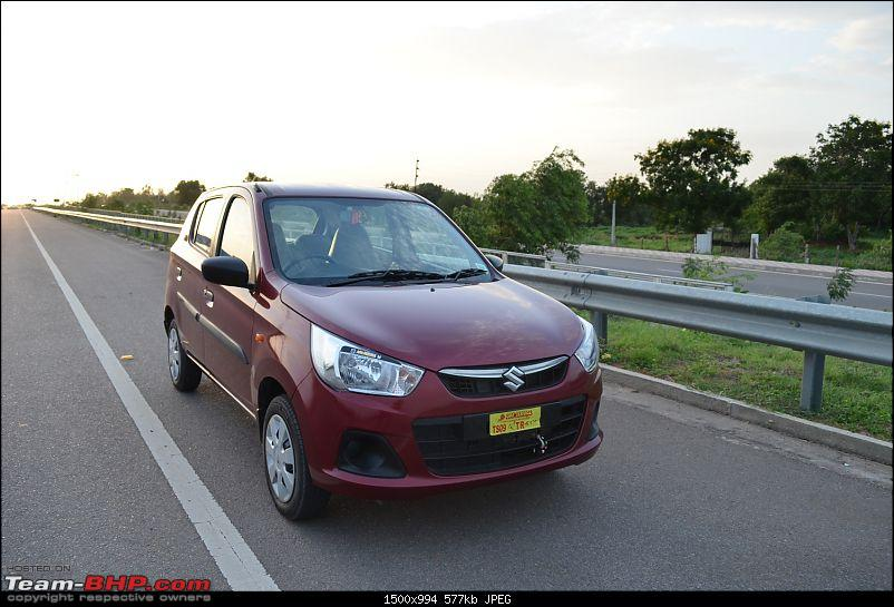 'Chasing Life' with our Maruti Alto K10 VXi AMT (Fire Brick Red). EDIT: 10,000 km up-4.-front-3-quarter-right.jpg
