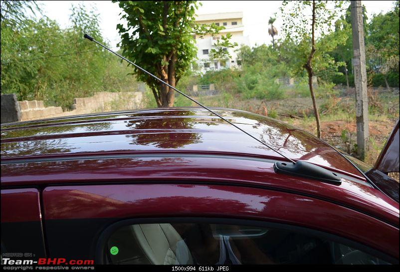 'Chasing Life' with our Maruti Alto K10 VXi AMT (Fire Brick Red). EDIT: 10,000 km up-antenna-open.jpg