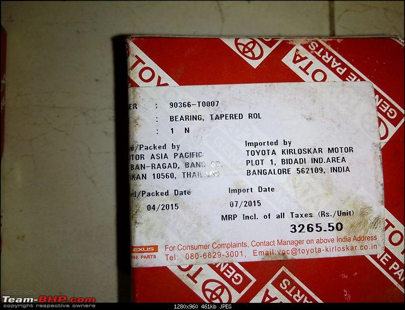 Toyota Innova: My Pre-worshipped Black Workhorse-bearing-tapered-roll-label-showing-mrp-rs-3265.50-thailand-manufactured.jpg