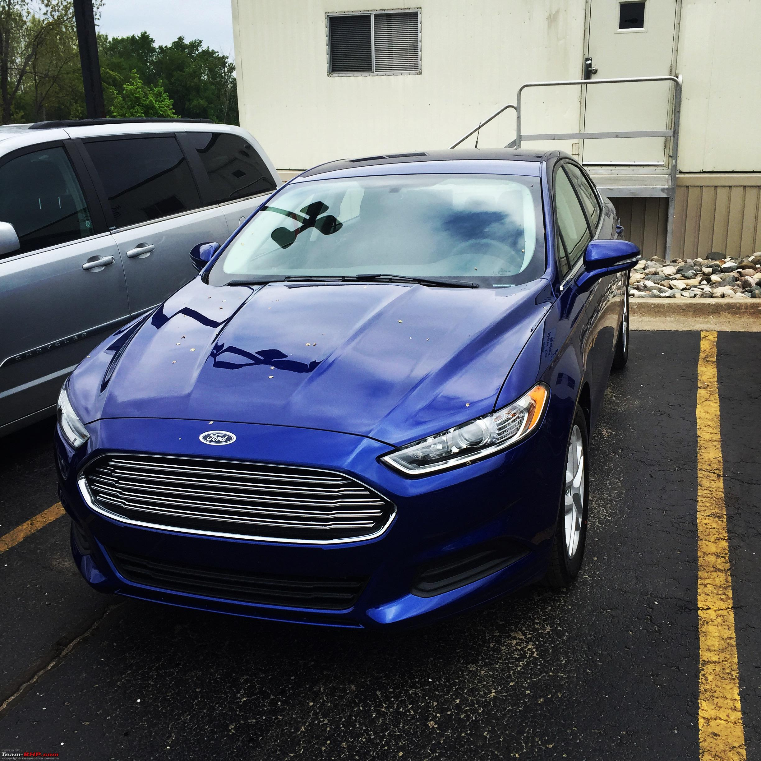 2015 ford fusion se returned to ford team bhp. Black Bedroom Furniture Sets. Home Design Ideas