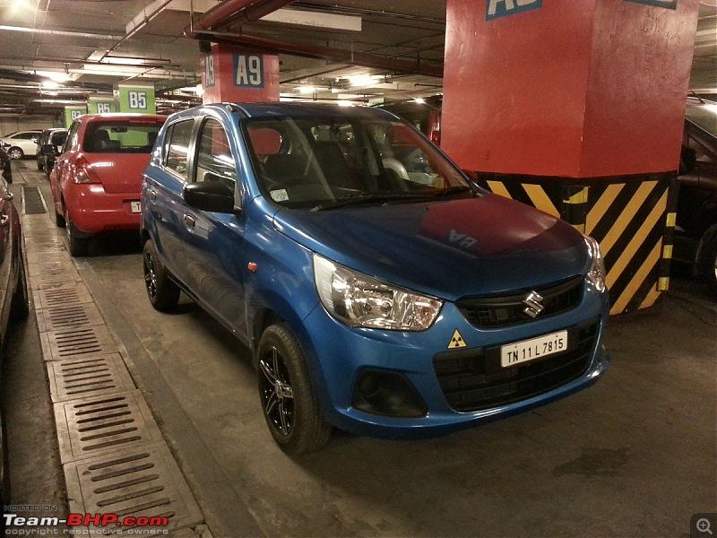 My Go-kart. Maruti Alto K10 VXi AMT, Cerulean Blue - 40,000 km update-01.jpg