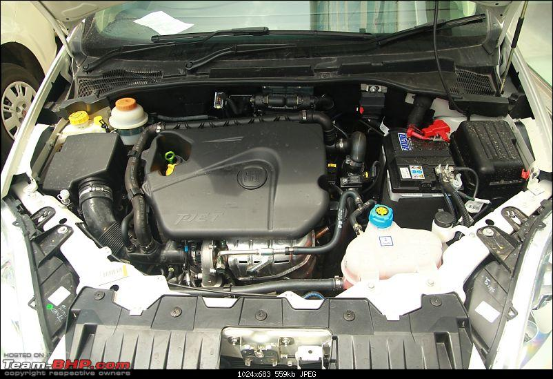 FIAT Accompli - Linea T-Jet Emotion (Pearl White). EDIT: 1st service completed-pdi-engine-bay.jpg