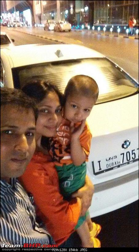 Love from Dubai - My BMW 520i F10-selfie.jpg