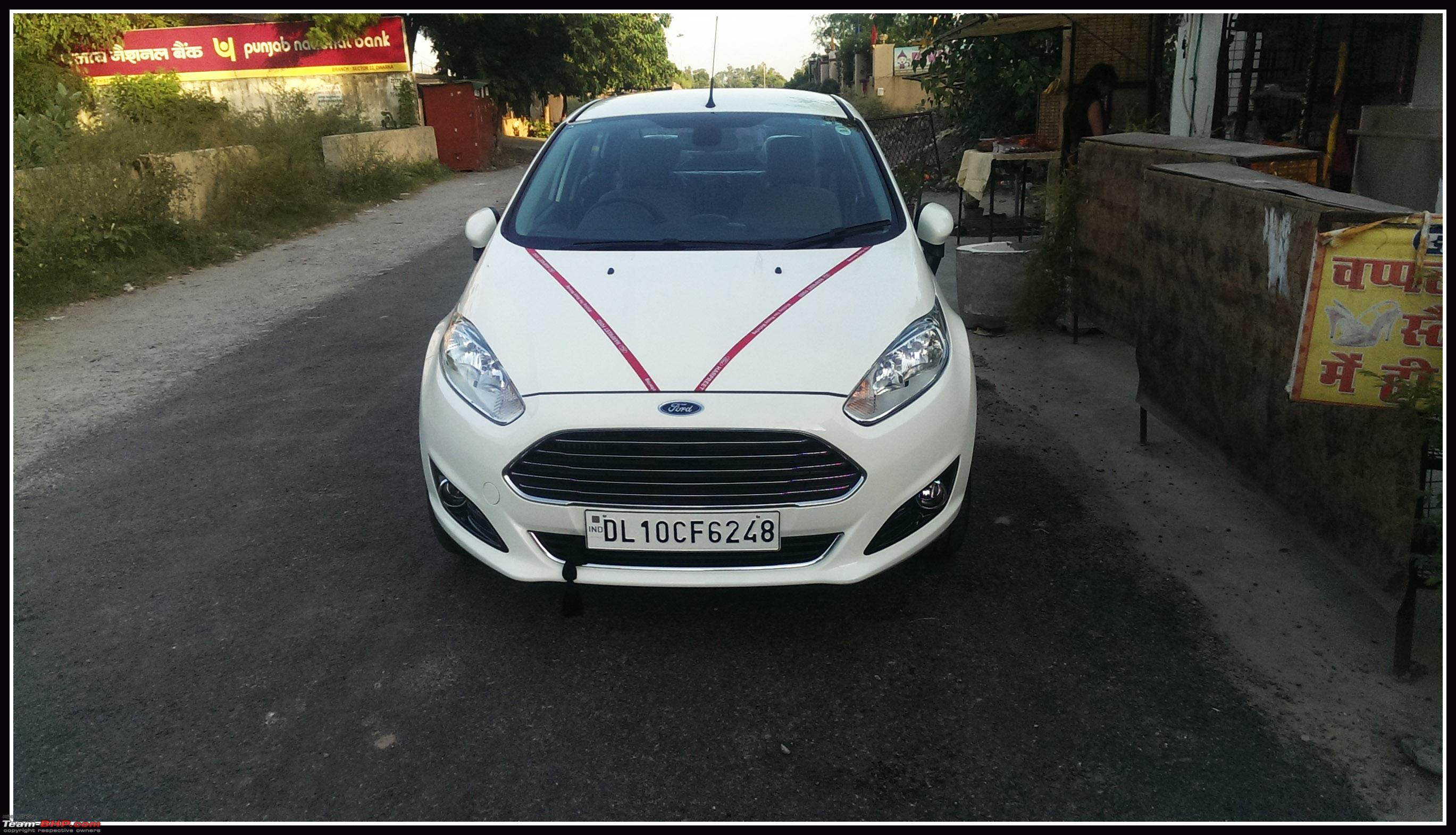 My American Love Diamond White Ford Fiesta Tdci Team Bhp 2012 Fuel Filter Bhp1