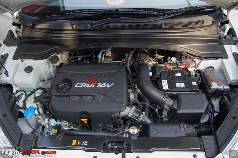 The new kid on the block - Hyundai Creta 1.4L CRDI (S variant)-enginebay1.jpg