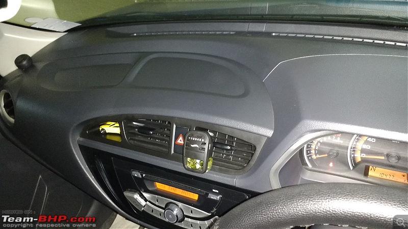 My Go-kart. Maruti Alto K10 VXi AMT, Cerulean Blue - 30,000 km update-dash-top.jpg