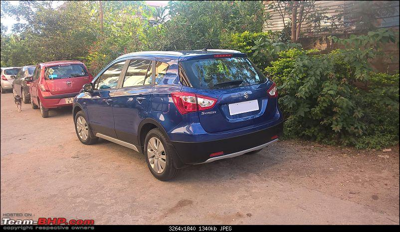 Journey from a Honda City to the Maruti S-Cross 1.3L-rear3quarter.jpg