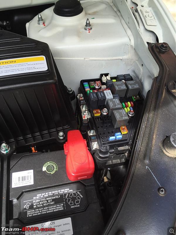 The New Age Mahindra XUV5OO W8 FWD - My Battle Cat's Roar-fuse-box.jpg