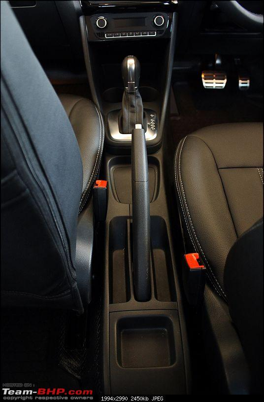 Carbon Steel Grey VW Polo GT TSI comes home-hand-brake-lever.jpg