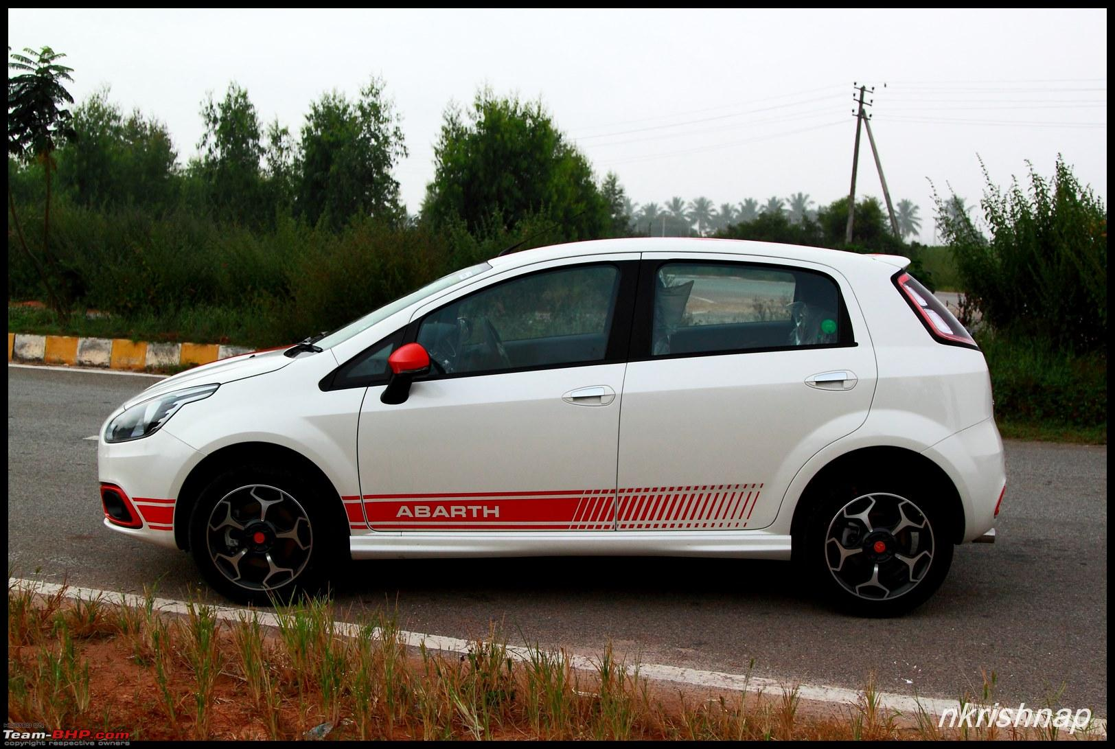 Fiat Abarth Punto Test Drive Review Team Bhp