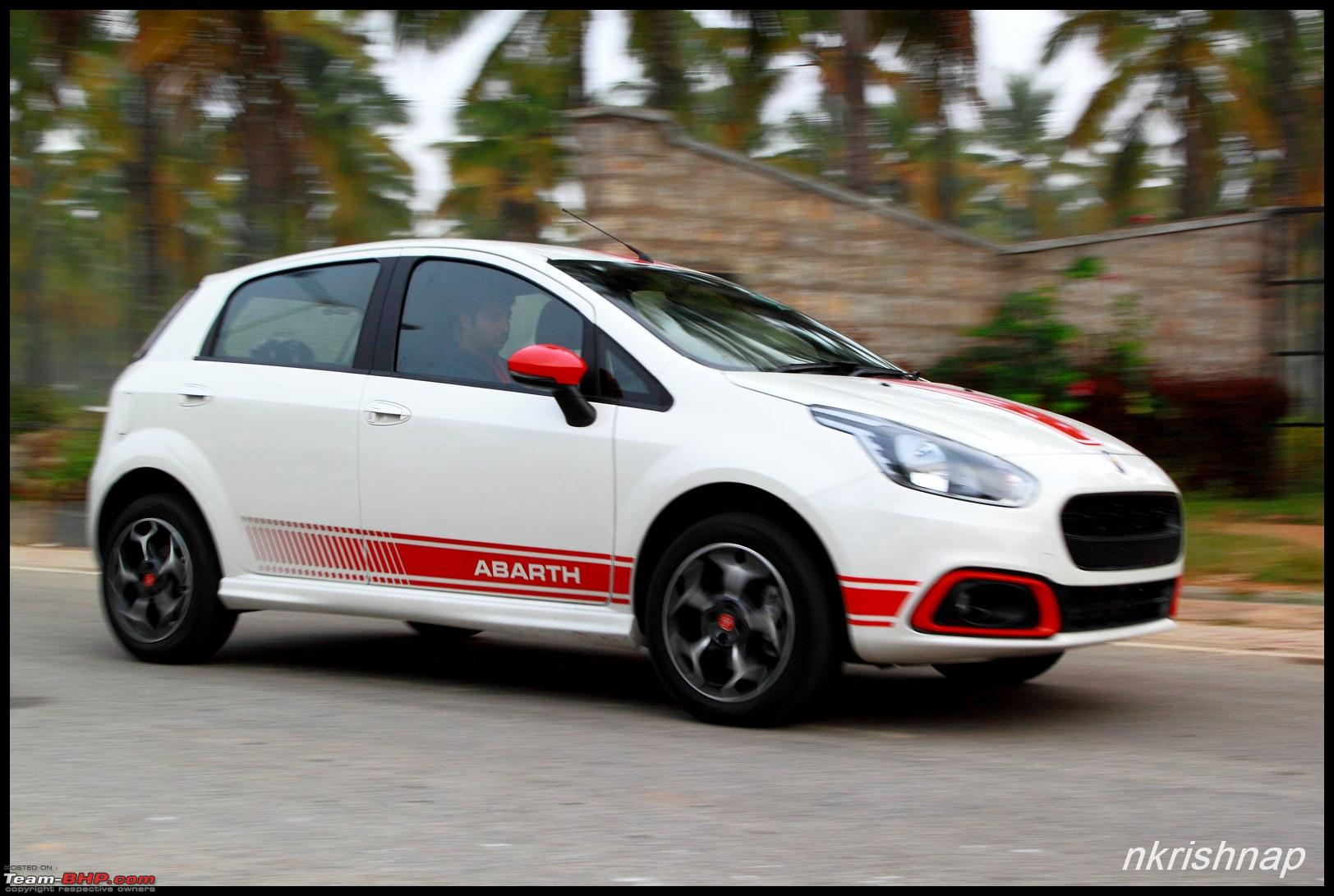 fiat abarth punto test drive review team bhp. Black Bedroom Furniture Sets. Home Design Ideas