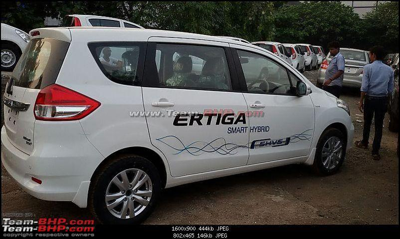 Orange Tank to conquer the road - Mahindra TUV3OO owner's perspective-ertiga-shvs.jpg