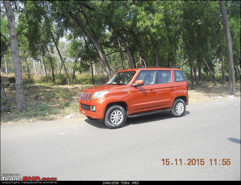 Orange Tank to conquer the road - Mahindra TUV3OO owner's perspective-dscn4618.jpg