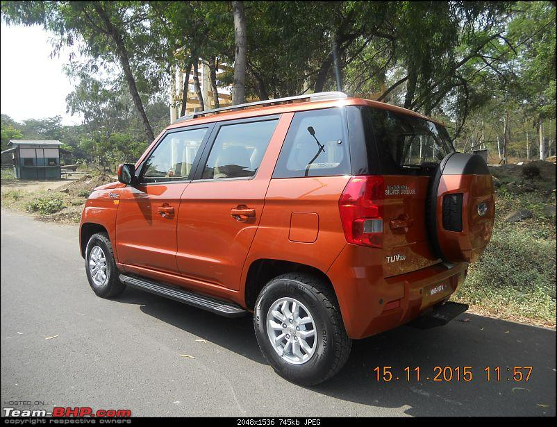 Orange Tank to conquer the road - Mahindra TUV3OO owner's perspective-dscn4626.jpg
