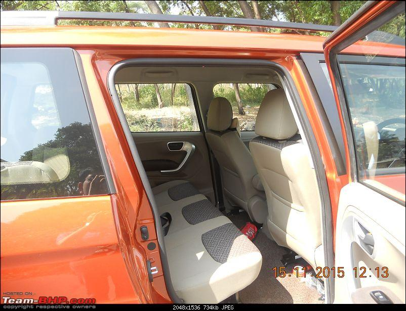 Orange Tank to conquer the road - Mahindra TUV3OO owner's perspective-dscn4696.jpg