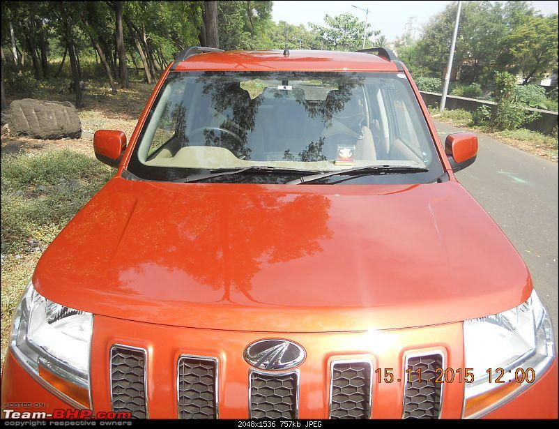 Orange Tank to conquer the road - Mahindra TUV3OO owner's perspective-dscn4645.jpg