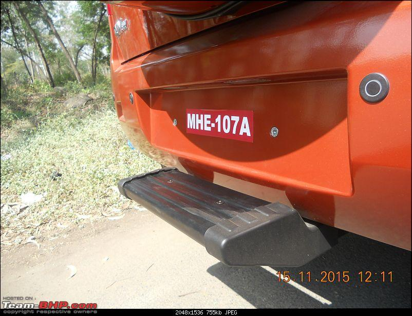 Orange Tank to conquer the road - Mahindra TUV3OO owner's perspective-dscn4682.jpg