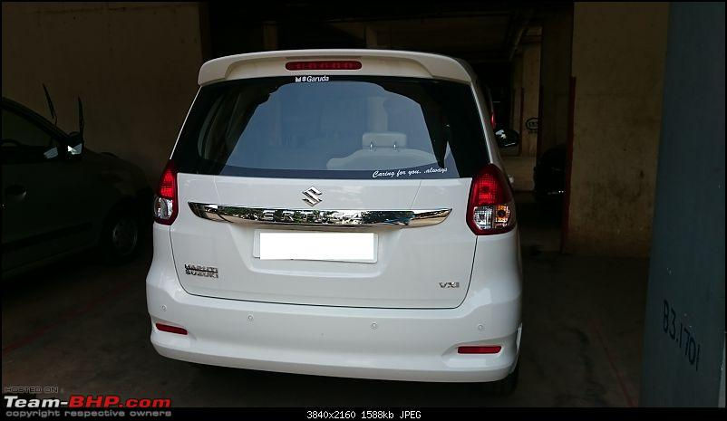 My Maruti Ertiga Automatic-backside.jpg