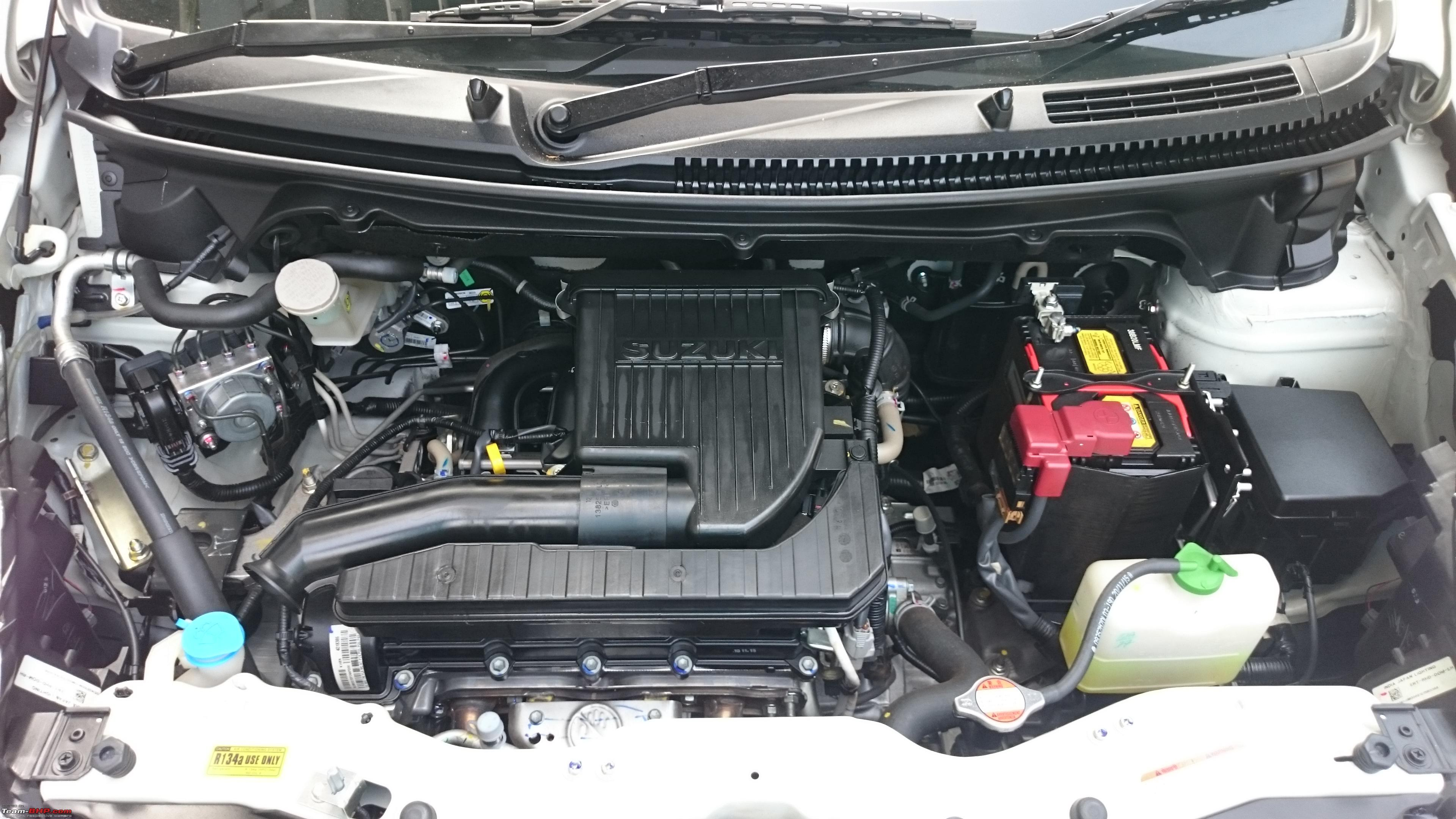 My Maruti Ertiga Automatic Engine2