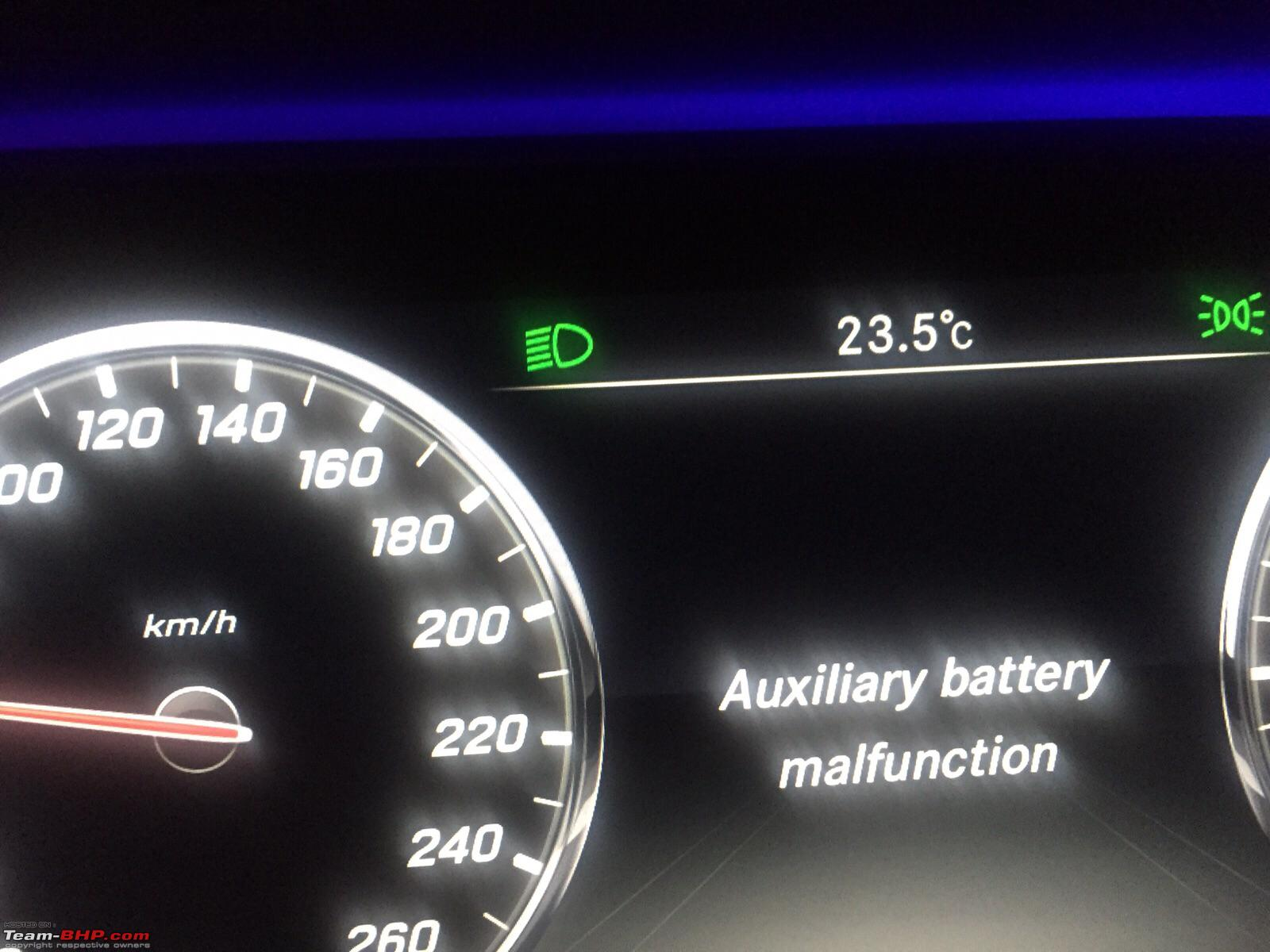 Auxiliary Battery Malfunction Mercedes >> My W222 Mercedes S Class S350 Cdi Page 5 Team Bhp