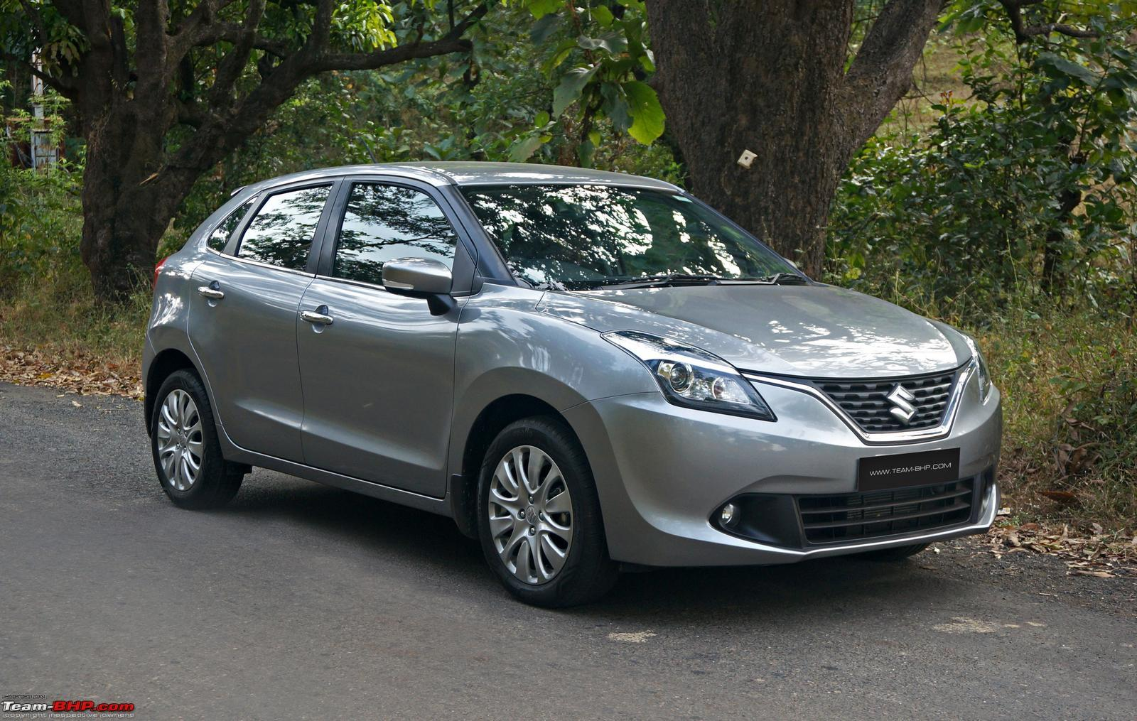 All Types baleno car images : My first car - Granite Gray Maruti Baleno 1.2 Delta - Team-BHP