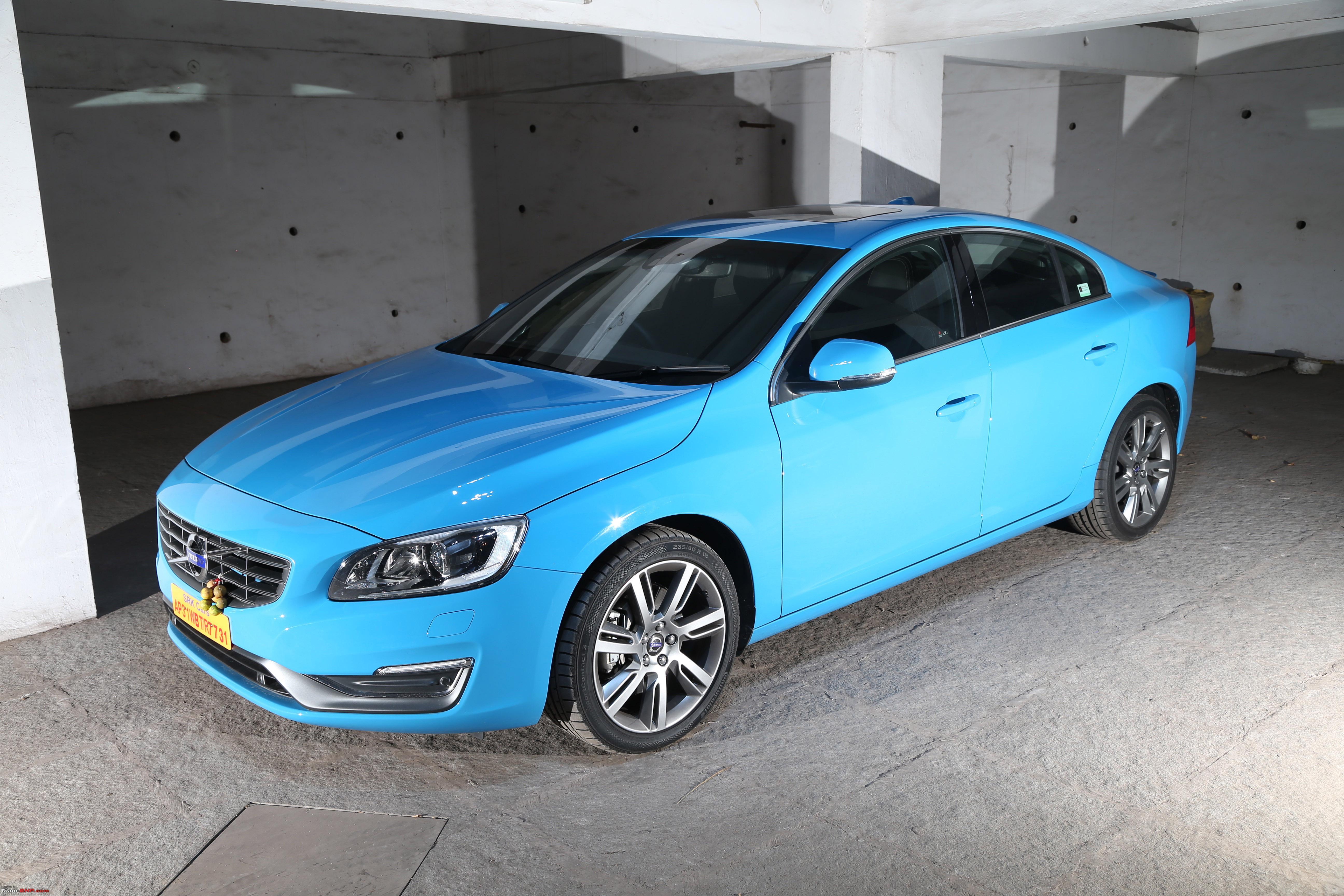 My Rebel Blue Volvo S60 T6 Initial Ownership Report Team Bhp