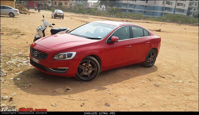 My Rebel Blue Volvo S60 T6 - Initial Ownership Report-20160212_101624.jpg